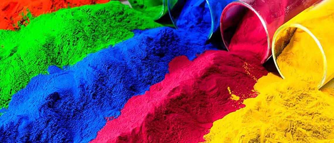 порошковая краска цвета